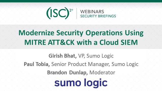 Modernize Security Operations using MITRE ATT&CK with a Cloud SIEM