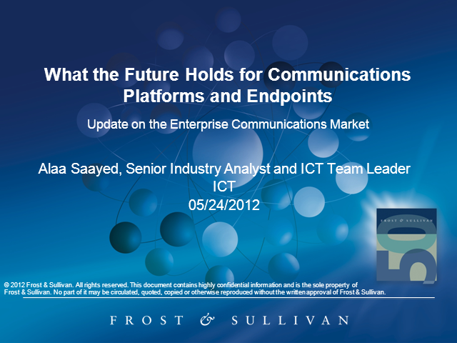 What the Future Holds for Communications Platforms and Endpoints