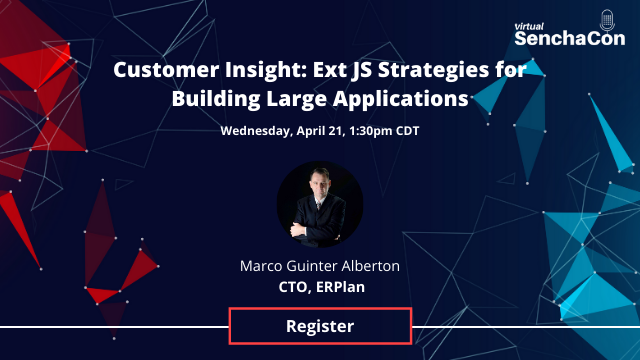 Customer Insight: Ext JS Strategies for Building Large Applications