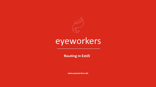 Making the Best of Routing in Ext JS