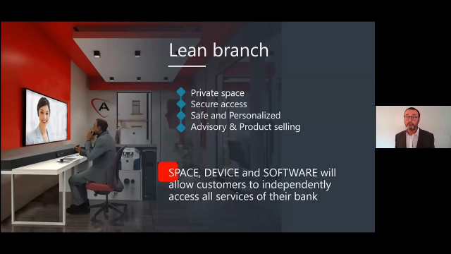 Mark Aldred talks about Empowering Banks at Self-Service Banking Asia 2020