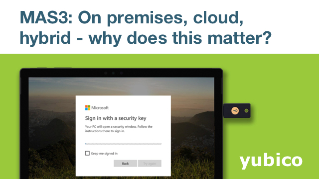 MAS3: On premises, Cloud, hybrid - why does this matter?