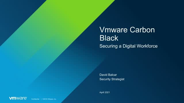 Workload Security with Presidio and VMware