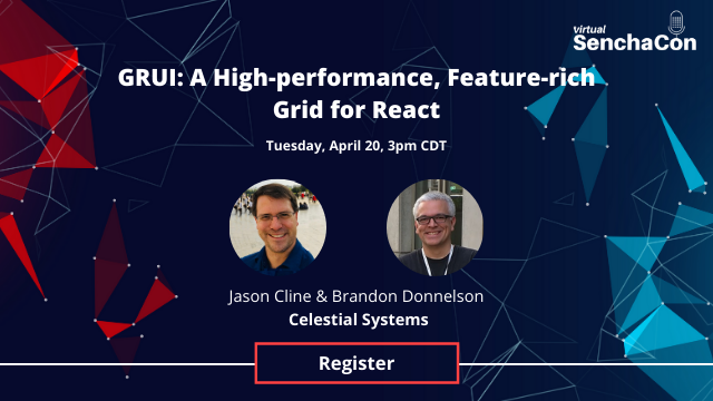 GRUI: A High-performance, Feature-rich Grid for React