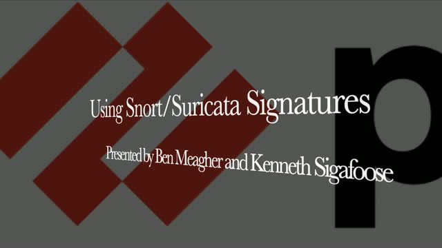 PANuggets - Episode 21 - How to leverage Snort/Suricata Signatures in PanOS