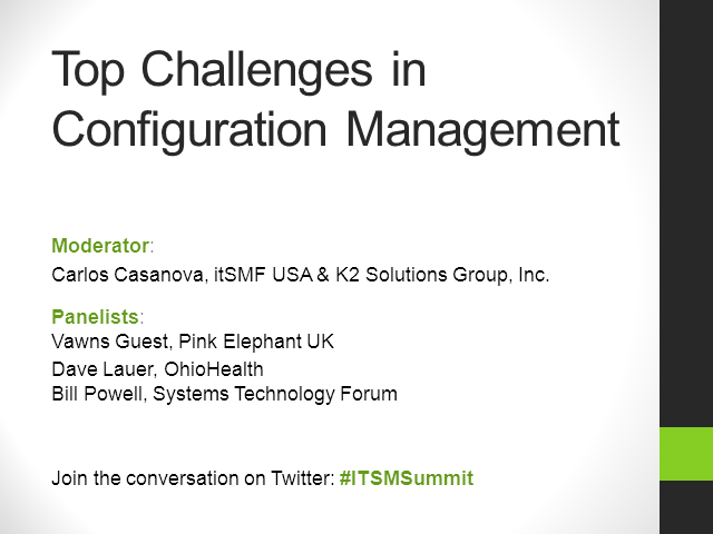 Top Challenges in Configuration Management