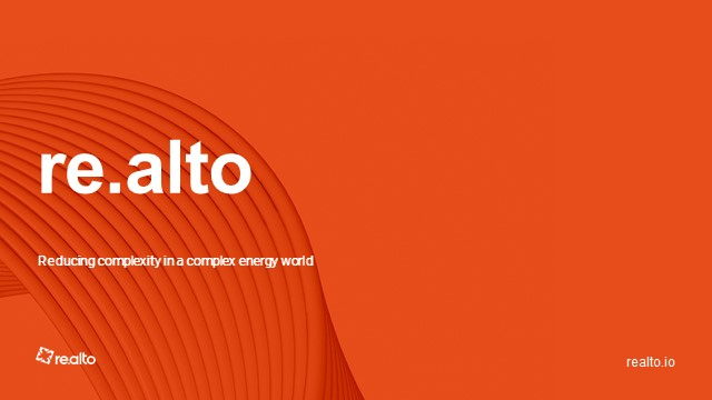 re.alto Talks: Near-real-time energy data and decentralised business models.