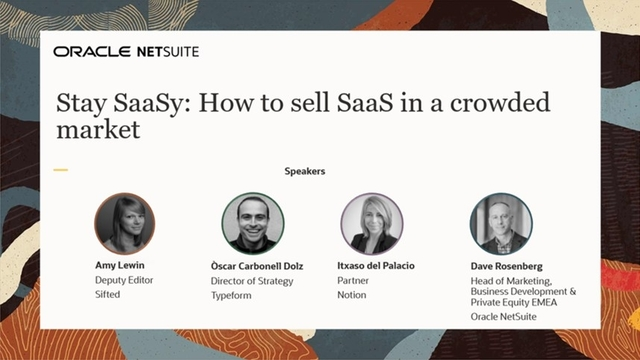 Stay SaaSy: How To Sell SaaS in a Crowded Market
