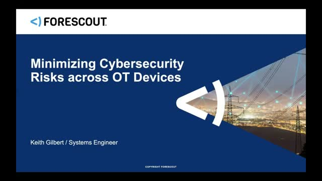 How to Avoid OT Downtime with Optimized Security