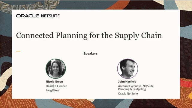 Connected Planning for the Supply Chain