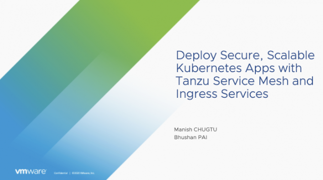 Deploy Secure, Scalable Kubernetes Apps with Service Mesh and Ingress Services