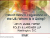 Appealing Beyond the Supreme Court: Patent Reform Legislation