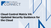 Cloud Control Matrix V4: Updated Security Guidance for the Cloud