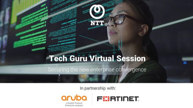 Tech Guru Virtual Session – Securing the New Enterprise Convergence