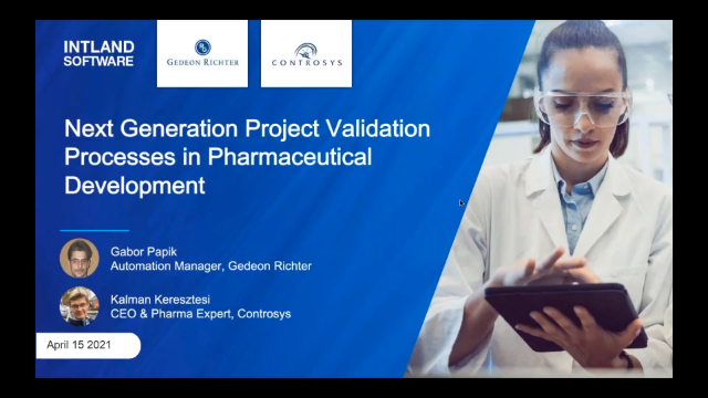 Next Generation Project Validation Processes in Pharmaceutical Development