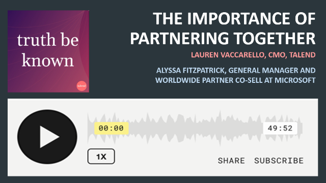 Podcast: The Importance of partnering together with Microsoft
