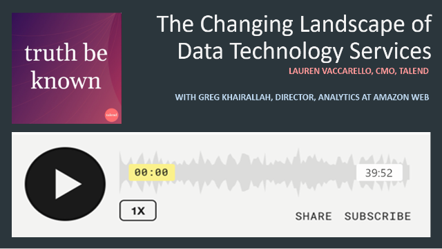 Podcast: The Changing Landscape of Data Technology with AWS
