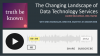 The Changing Landscape of Data Technology with AWS