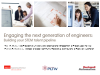 Building your STEM talent pipeline: Engaging the next generation of engineers