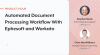 Automated Document Processing Workflow With Ephesoft and Workato