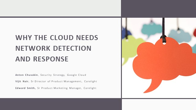 Why the Cloud Needs Network Detection and Response