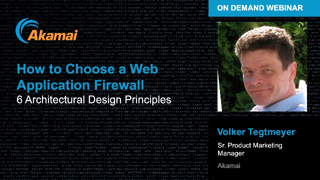 How to Choose a Cloud Web Application Firewall