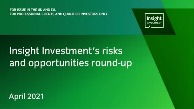 Insight's monthly investment risks and opportunities round-up