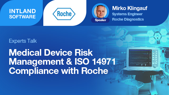 Medical Device Risk Management & ISO 14971 Compliance with Roche