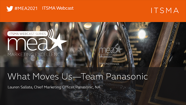 What Moves Us—Team Panasonic