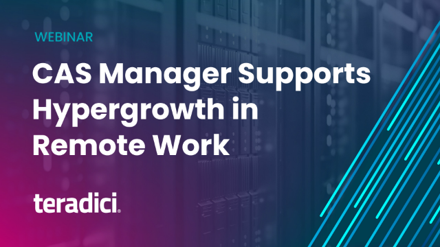 GMT - CAS Manager Supports Hypergrowth in Remote Work