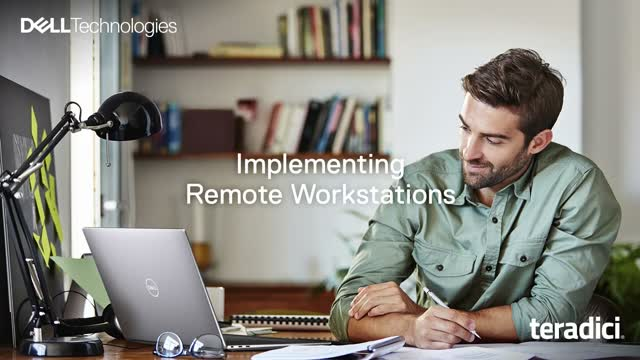 Learn how to stay productive remotely with Dell Workstations