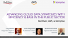 Advancing Cloud Data Strategies with Efficiency and Ease in the Public Sector