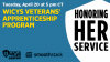 WiCyS Veterans' Apprenticeship Program