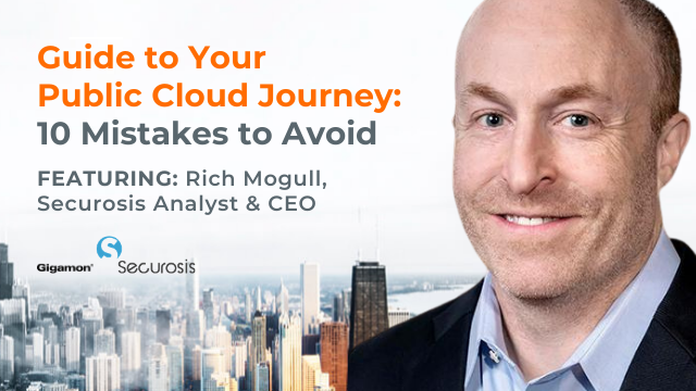 Guide to Your Public Cloud Journey: 10 Mistakes to Avoid