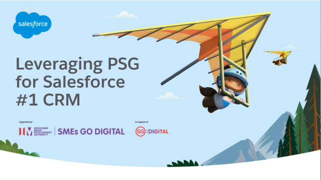 Leveraging PSG for Salesforce #1 CRM
