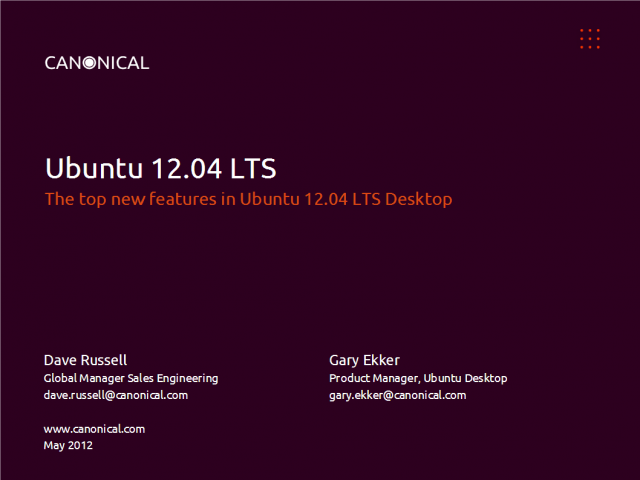 New Ubuntu 12.04 LTS: productive desktop computing without the cost