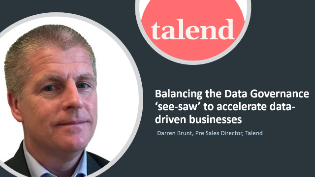Balancing the Data Governance 'see-saw' to accelerate data-driven businesses