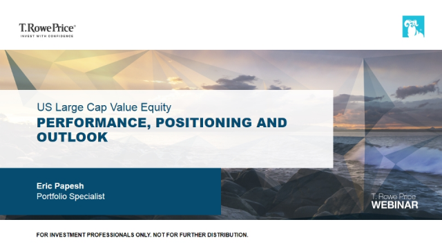 US Large Cap Value Equity – Performance, positioning and outlook