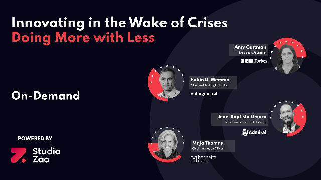 Panel Discussion: Innovating in the Wake of Crises — Doing More with Less