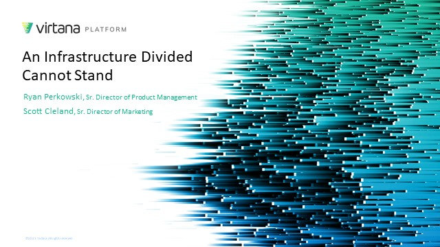 A Cloud Infrastructure Divided Cannot Stand