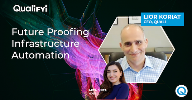 QualiFYI | ep. 8: Future Proofing Infrastructure Automation