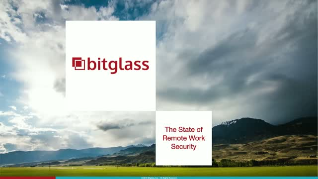 Bitglass 2021 Insider Report: The State of Remote Work Security