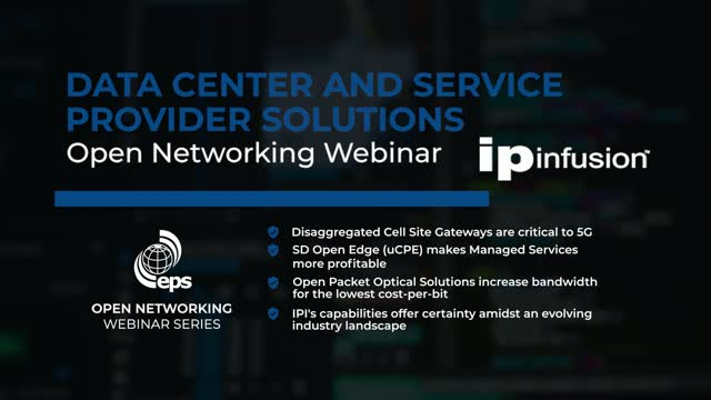 Data Center and Service Provider Solutions with IP Infusion
