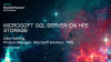 Solving the Latest IT Challenges with SQL Server on HPE storage