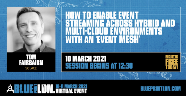 How to Enable Event Streaming across hybrid / multi-cloud with an 'Event Mesh'