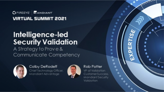 Intel-Led Security Validation: A Strategy to Prove & Communicate Competency