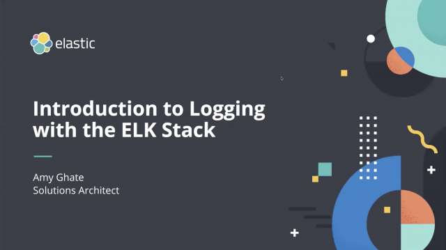Introduction to logging with the ELK Stack