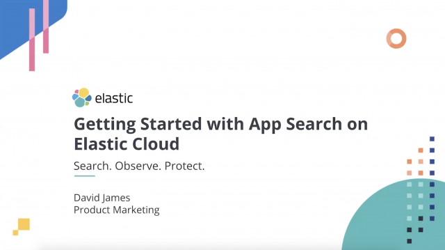Getting started with Elastic App Search on Elastic Cloud