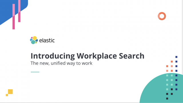 Introducing Elastic Workplace Search