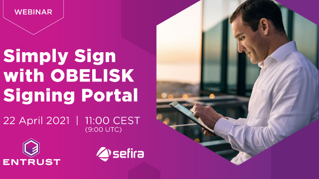 Simply Sign with OBELISK Signing Portal
